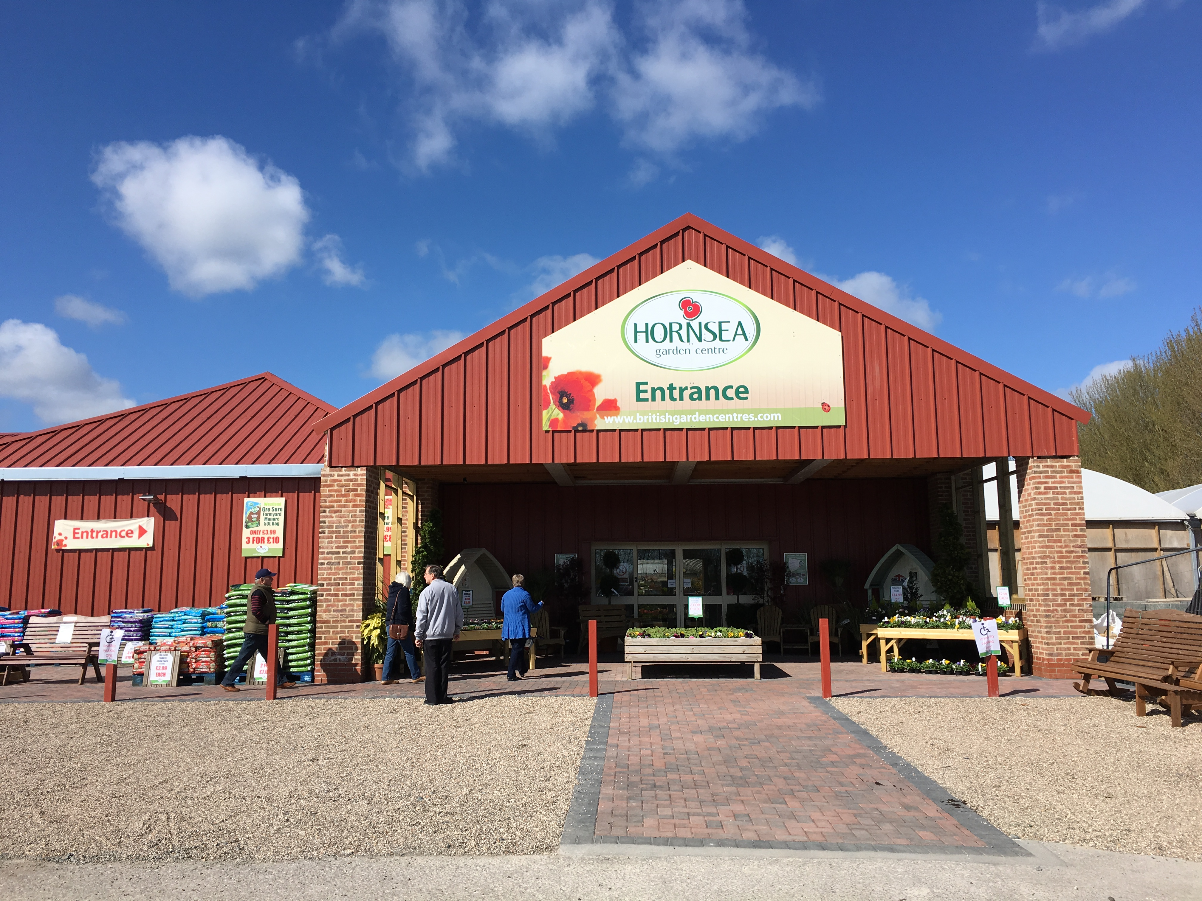 First look at hornsea garden centre the garden centre blog for Garden centre